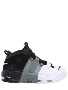 meet e38ae 74bbf NIKE AIR MORE UPTEMPO  96 LEATHER SNEAKERS.  nike  shoes
