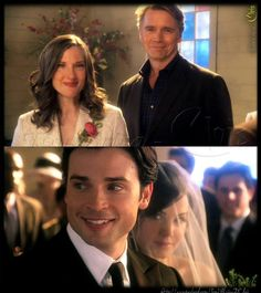 Smallville Wedding. MADE BY KIMMY WESTERBAAN. Lois E Clark, Clark Kent, Outlander, Reign, Smallville Quotes, Miss Fisher, Erica Durance, Supergirl Superman, Step Up Revolution