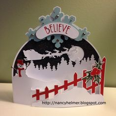 I cut this Bendi card with an SVG file from Dreaming Tree with my Cricut Explore.