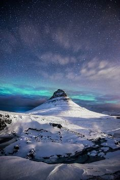 Kirkjufell, Iceland; photo by Andrea Heribanova