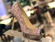 Jimmy Choo. Glitter. Shoes. The three best things in the world all in one! <3