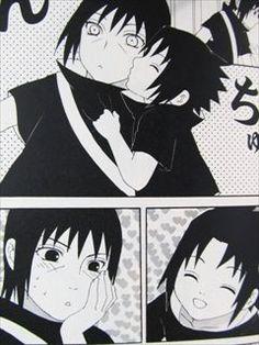 This is too cute. Sasuke and Itachi