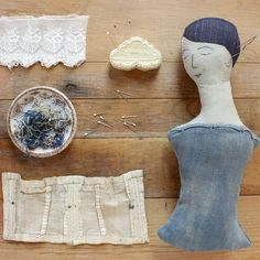 ann wood doll workshop : : experimenting with dolls : : at squam art workshops (Fall 2016)