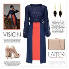 """LATTORI dress"" by water-polo ❤ liked on Polyvore featuring Lattori, Rupert Sanderson, Isabel Marant, polyvoreeditorial and lattori"