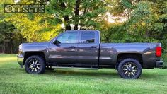 19 4 2014 silverado 1500 chevrolet leveling kit fuel nutz machined accents aggressive 1 outside fender