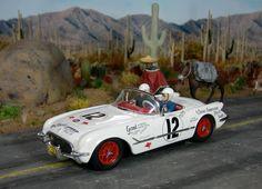 The 1954 Carrera Panamericana Corvette - SlotForum