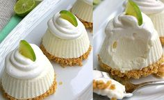 Facebook Pinterest TwitterLos cupcakes de limon, son como pequeñas porciones de carlotta de limón. Son ideales para las cumpleaños, baby shower, mesa de postres, se mira y saben deliciosos, todo mundo va a quedar encantado. Ingredientes: 1 taza de leche condensada 1 taza de leche evaporada 1 taza de media crema (crema de leche o