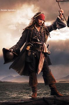 Johnny Depp ... Just imagine: Captain Jack Sparrow as your husband! I can't decide if it would be more like hell or an adventure?!