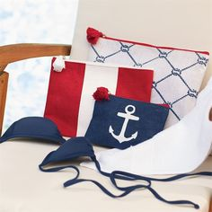 Nautical Carry Alls - Set of Three
