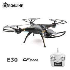 Eachine E30 2.4G 4CH 6-Axis Headless Mode 3D Roll RC Quadcopter Without Camera RTF From 49,95 for Euro 23,60