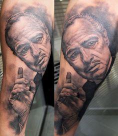 Tattoo by Xavier Garcia Boix