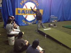Teaching curveballs at the Senior Winter Training Program; January 2014 #curveballs