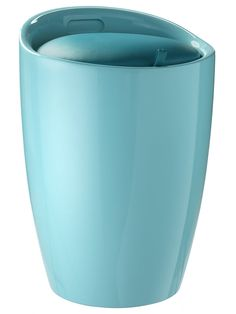 Aus hochwertigem Kunststoff. Gepolsterter Sitz aus 100% Polyurethan. Herausnehmbarer Wäschesack aus 100% Polyamid. H/ø ca. 51/36 cm....