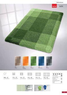 Quality bath rug in soft polyacrylic yarn which is highly absorbent yet quick to dry.Non-irritant for skin. Bath Rugs, Bath Mat, Home Decor, Slate, Decoration Home, Room Decor, Home Interior Design, Bathrooms, Bathroom Rugs