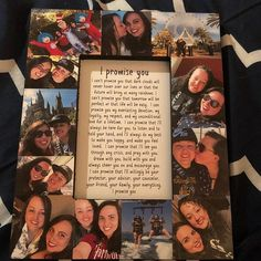 for best friends photos Boyfriend Gift Girlfriend I promise you Best Friend Picture Frame Collage Photo Frame College Valentines Day couple quote, husband wife love Birthday Gifts For Boyfriend Diy, Creative Gifts For Boyfriend, Cute Boyfriend Gifts, Creative Birthday Gifts, Cute Birthday Gift, Boyfriend Anniversary Gifts, Handmade Gifts For Boyfriend, Boyfriend Boyfriend, Diy Boyfriend Gifts