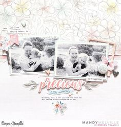 53 vind-ik-leuks, 6 reacties - Mandy Melville (@mandy1980) op Instagram: 'Here's my first layout using the brand new 'More than Words' collection from…'