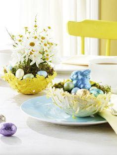 Osterkörbchen basteln und Papier recyceln: Eine super DIY-Idee zum Osterfest!