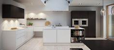 Minimalistic nordic kitchen
