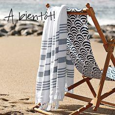 rantatuoli ja turkkilainen pyyhe