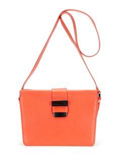 Slip Lock Leather Shoulder Bag by Narciso Rodriguez at Gilt