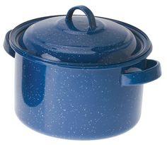blue speckled pot - http://highaltitude2u.com/images/blue-enamel-42-quart-stock-pot.jpg