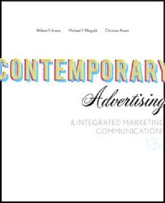 Free test bank for integrate marketing communication 4th edition by free test bank for contemporary advertising and integrated marketing communications 13th edition by arens is one fandeluxe Gallery