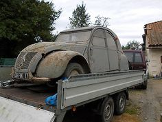 2 CV 1957 Rare Find Barn Ripple Bonnet In Cars Motorcycles Vehicles
