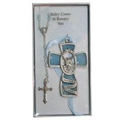 Blue Guardian Angel Wall Cross & Rosary Set Childrens Baby Infant Boy Christening Baptism. McVan, http://www.amazon.com/dp/B003JDRSGE/ref=cm_sw_r_pi_dp_nN6Sqb1GFGFNX