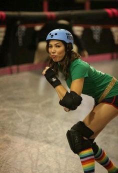 Angela undercover at Roller Derby tryouts SHOW  Bones SEASON  8 EPISODE   The Doll a9d5b9b693a