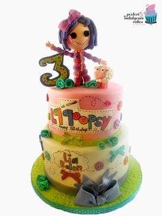 Lalaloopsy - by PerfectIndulgence @ CakesDecor.com - cake decorating website