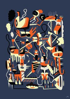 Blissed-out by Jing Ng, via Behance