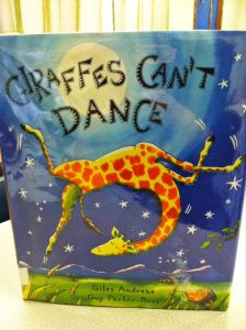 Giraffes Can't Dance. A 1st and 2nd grade lesson about accepting differences and recognizing what makes us special.