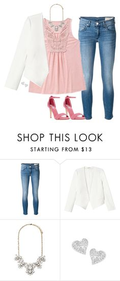 """""""Untitled #107"""" by rosemarylopez-1 ❤ liked on Polyvore featuring rag & bone/JEAN, Rebecca Taylor, Forever 21, Vivienne Westwood and Dune"""