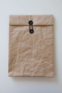 SIWA string and button close envelope