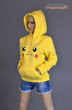 Your Action Figures Really Want A Pokemon Hoodie