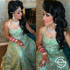 #throwback to our Bridal client Ronica Dhir. she looked amazing for her reception. Face :@maccosmetics studio fix fluid foundation, @lagirlcosmetics HD pro concealer. Mac breezy blush Eyes:...
