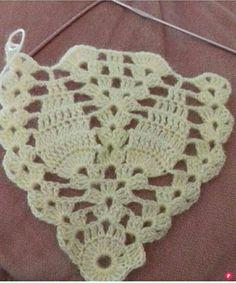 Tutorial Mochila De Trapillo Handmade Co Craftsforkids - Diy Crafts - DIY & Crafts Gilet Crochet, Crochet Motifs, Crochet Stitches Patterns, Crochet Diagram, Crochet Shawl, Crochet Baby, Free Crochet, Knit Crochet, Knitting Patterns