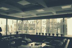 Harvey's office.  Photo by Jacinda Barrett.