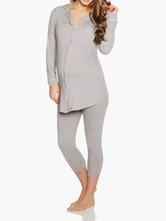 Boyfriend Maternity Sleep Shirt & Pant