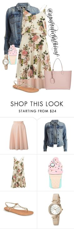 """Apostolic Fashions #1316"" by apostolicfashions on Polyvore featuring VILA, Kate Spade, BP., DKNY and Gucci"