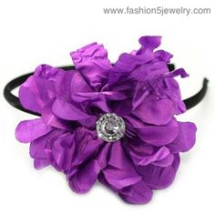 $5 #Paparazzi $5 Jewelry & Accessories #$5 Jewelry #Paparazzi Jewelry www.fashion5jewelry.com #headband #purple #facebook.com/justfivedollars