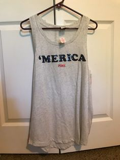 371ac9b28 My Victorias Secret Pink American Tank by Pink. Size L   12 for   35.00