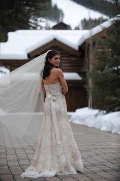 Genevieve Padalecki wedding dress