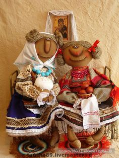 Авторские куклы Татьяны Козыревой