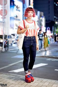 Candy Stripper, Spinns & Gremlins Harajuku Street Fashion (Tokyo Fashion, 2015)