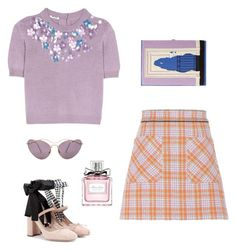 """""""Untitled #40"""" by peterpan130395 ❤ liked on Polyvore featuring Miu Miu, Olympia Le-Tan and Christian Dior"""