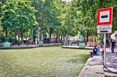 A região do canal Saint-Martin é uma boa alternativa para fazer um piquenique na cidade - Shutterstock