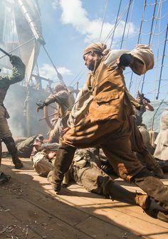 Black Sails pirate fight