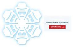 DIY Breaking Bad Heisenberg Paper Snowflake