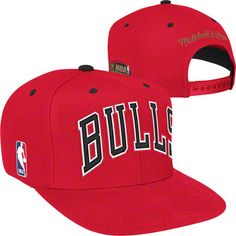 Chicago Bulls Mitchell & Ness HWC Commemorative 1998 Finals Patch Snapback Hat $25.99 #SeeRed